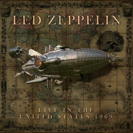 Led Zeppelin: Live In The USA 1969 (2CD)