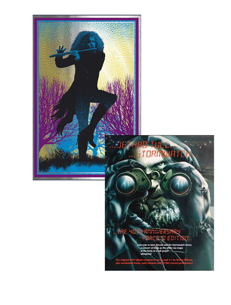 Jethro Tull - STORMWATCH: 40th Anniversary Edition (4CD / 2DVD Pack) & Ian Anderson Print Bundle