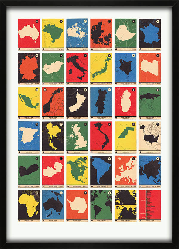Atlas Maps Countries and Continents A to Z