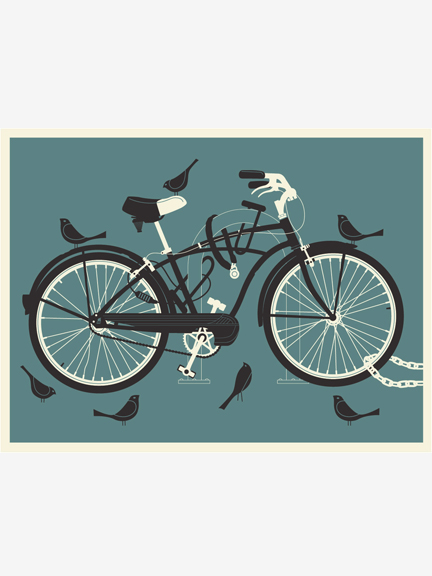 Bird Bike (Blue edition)