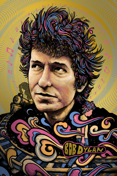 Bob Dylan (Variant on Gold Foil)