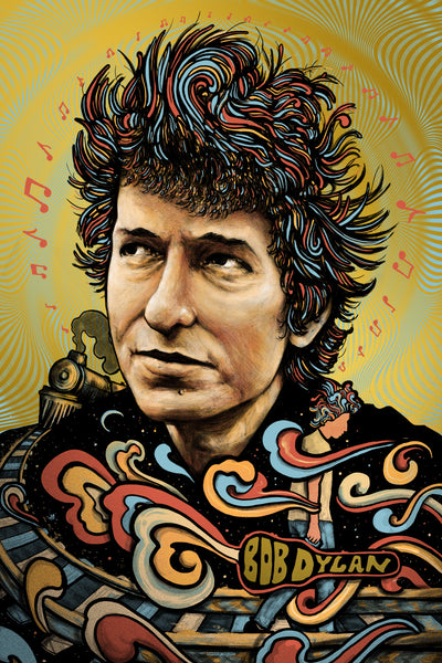 Bob Dylan (Regular on Gold Foil)
