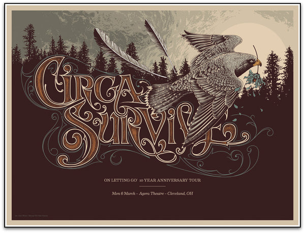 Circa Survive - 'On Letting Go' 10th Year Anniversary