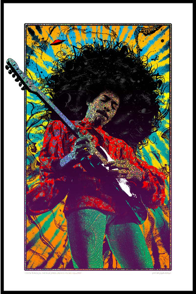 SOLD OUT! Jimi Hendrix (Sparkle Variant) SOLD OUT!