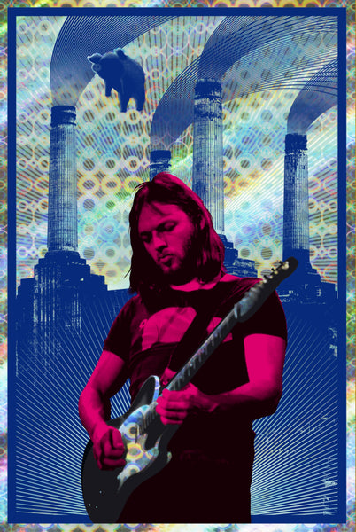 David Gilmour (Red/Circle Foil) #01/05