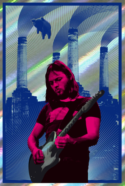 David Gilmour (Red/Rainbow Foil)