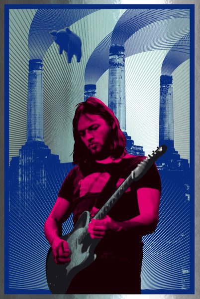 David Gilmour (Red/Silver Foil)