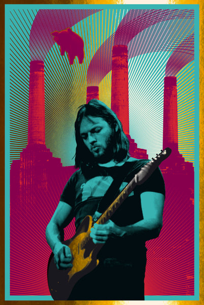 David Gilmour (Blue/Gold Foil)
