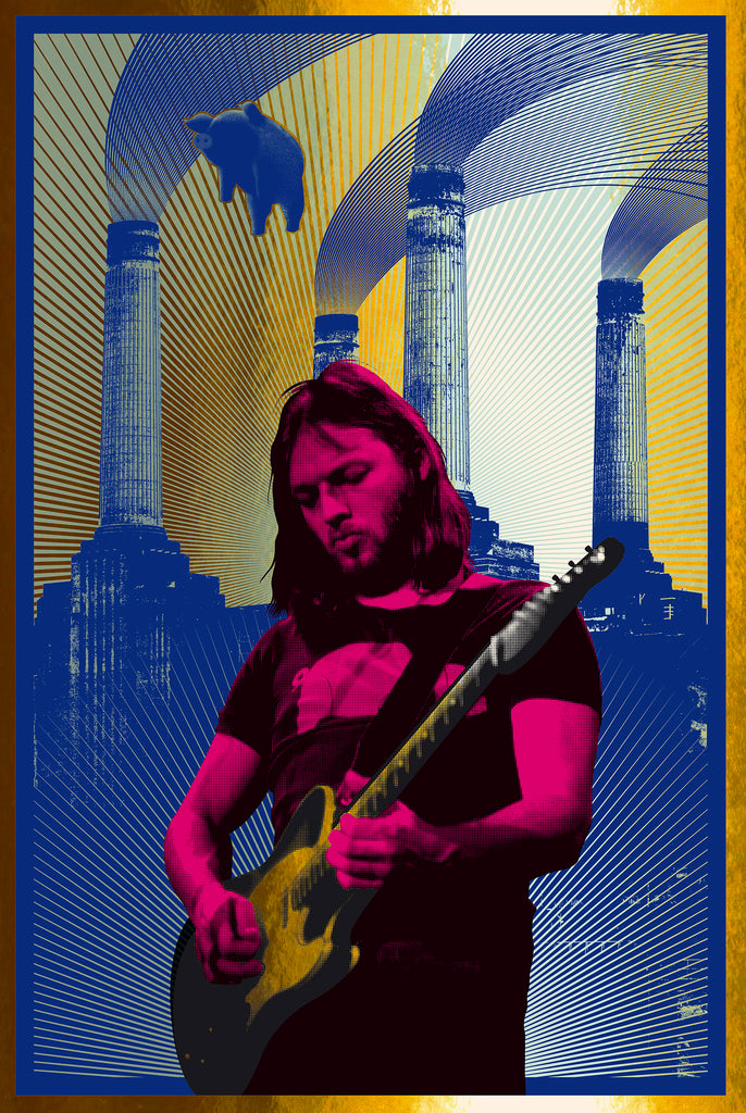David Gilmour (Red/Gold Foil) AP Edition