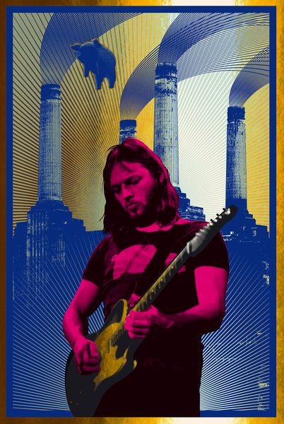 David Gilmour (Red/Gold Foil)