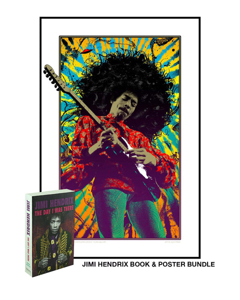 Jimi Hendrix (Book & Art Print Bundle)