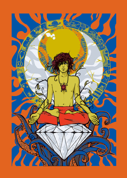 Syd Barrett (Orange Variant)