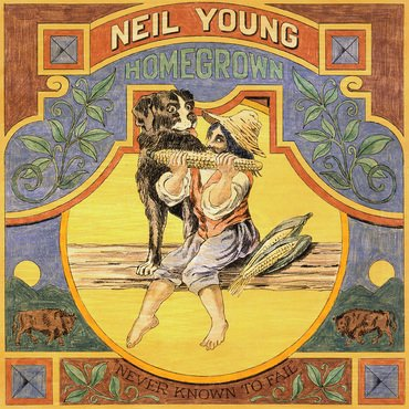 Homegrown album & Neil Young Poster Bundle