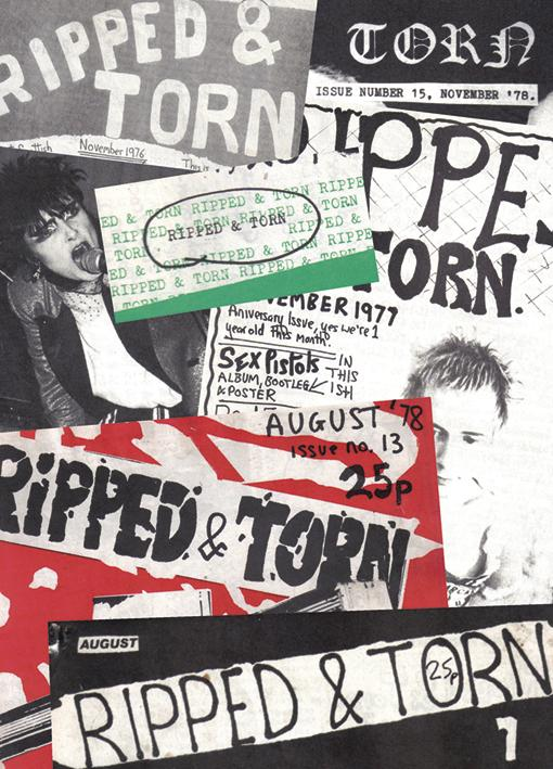 Ripped and Torn: 1976-79 - The Loudest Punk Fanzine in the UK