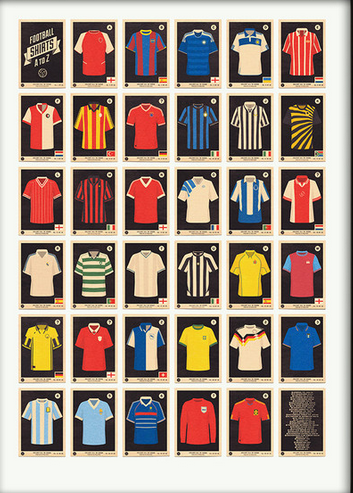 A-Z of Football Shirts