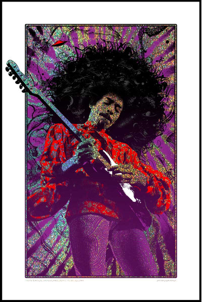 SOLD OUT! Jimi Hendrix (Purple Haze - Sparkle variant) SOLD OUT!