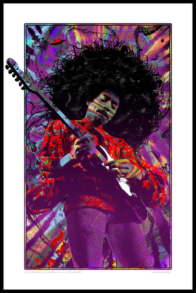 SOLD OUT! Jimi Hendrix (Purple Haze - Lava variant) SOLD OUT!