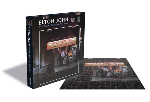 Elton John - Don't Shoot Me I'm Only The Piano Player Jigsaw Puzzle