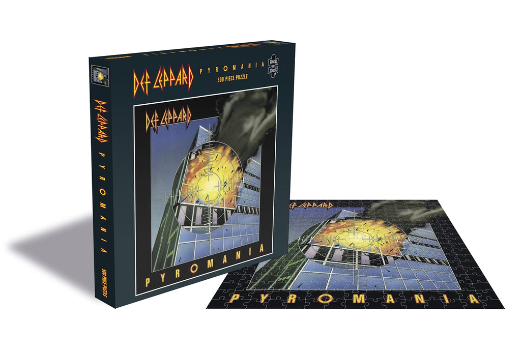 ROCK SAW PUZZLES - DEF LEPPARD (PYROMANIA)