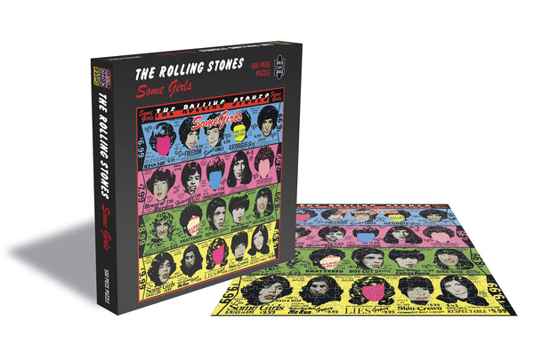 ROCK SAW PUZZLES - THE ROLLING STONES (SOME GIRLS)