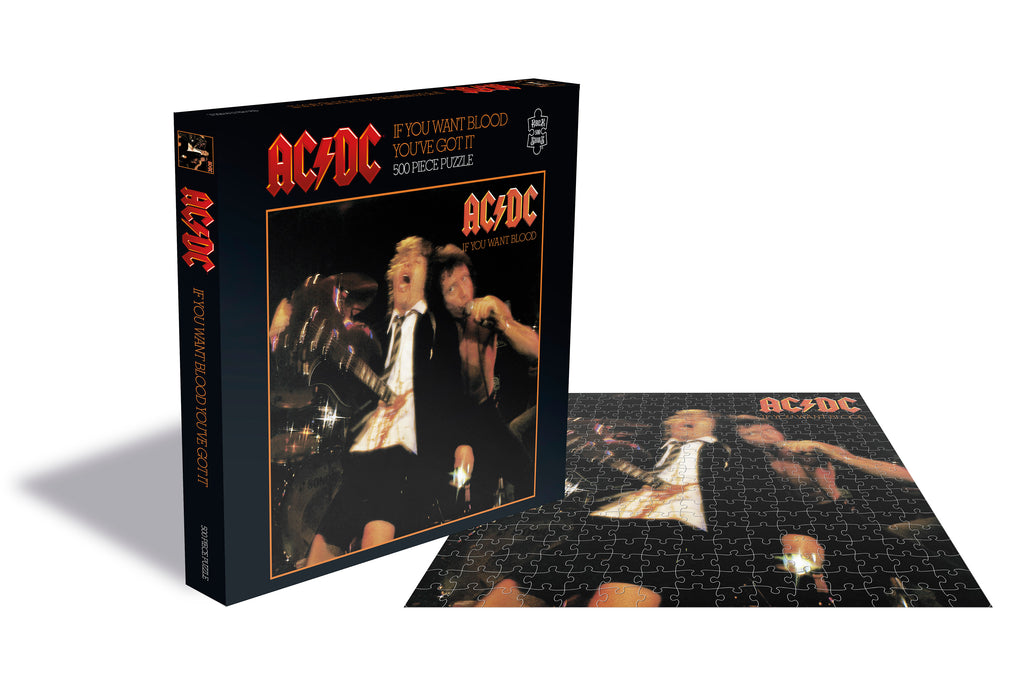 ROCK SAW PUZZLES - AC/DC (IF YOU WANT BLOOD)