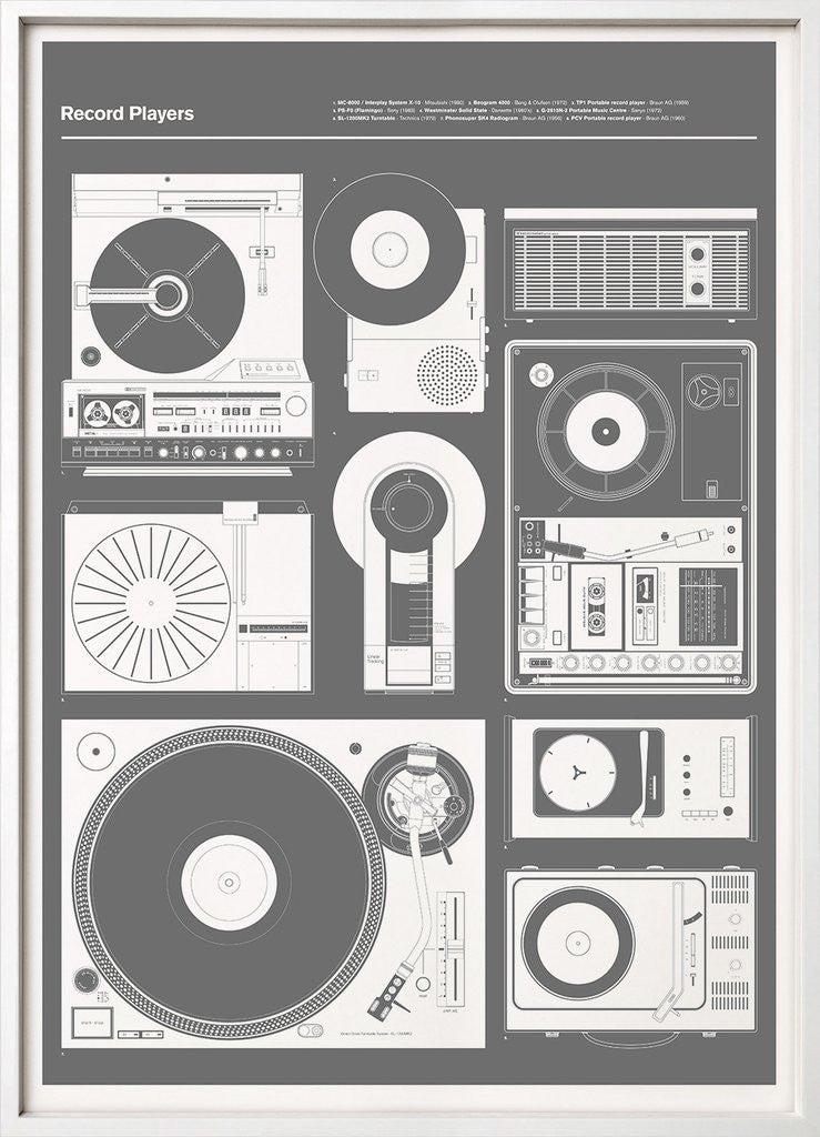Record Players Grey