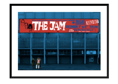 The Jam at Wembley Arena Poster & Aim High Book Bundle