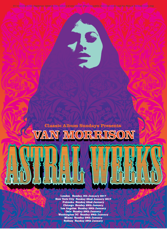 Van Morrison - Astral Weeks (Giclee Edition)