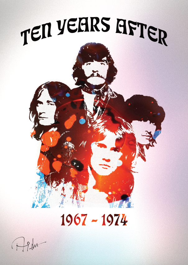 Ten Years After Signed Poster