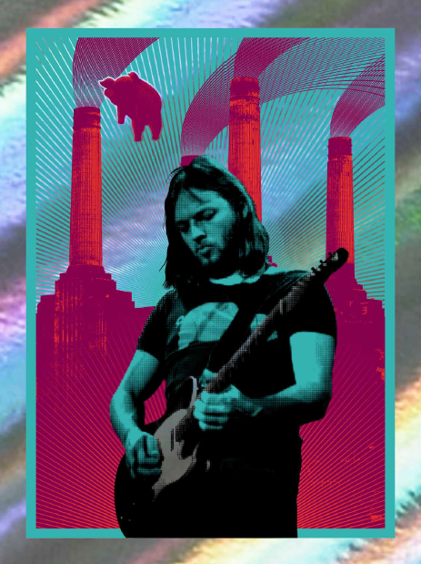 David Gilmour (Blue/Rainbow) Mini