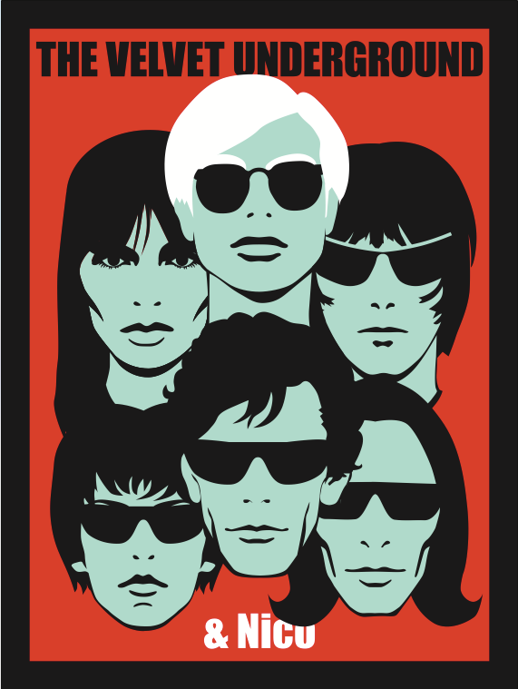 The Velvet Underground Mini Print