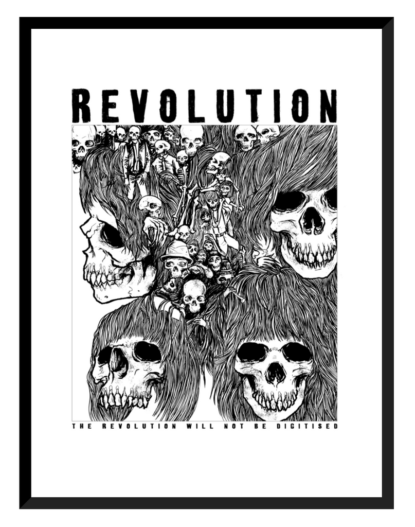 The Revolution Will Not Be Digitised & GM II Book Bundle