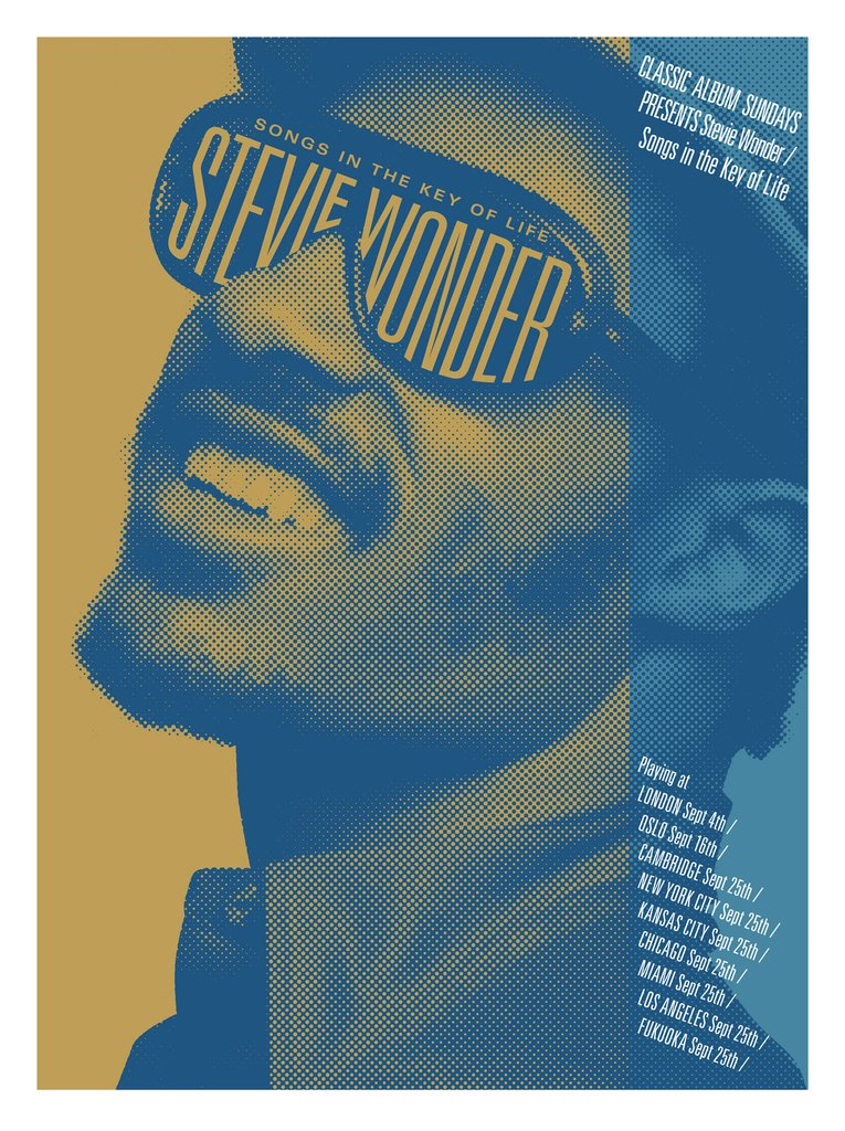 Stevie Wonder - Songs In The Key Of Life (Metallic Variant)
