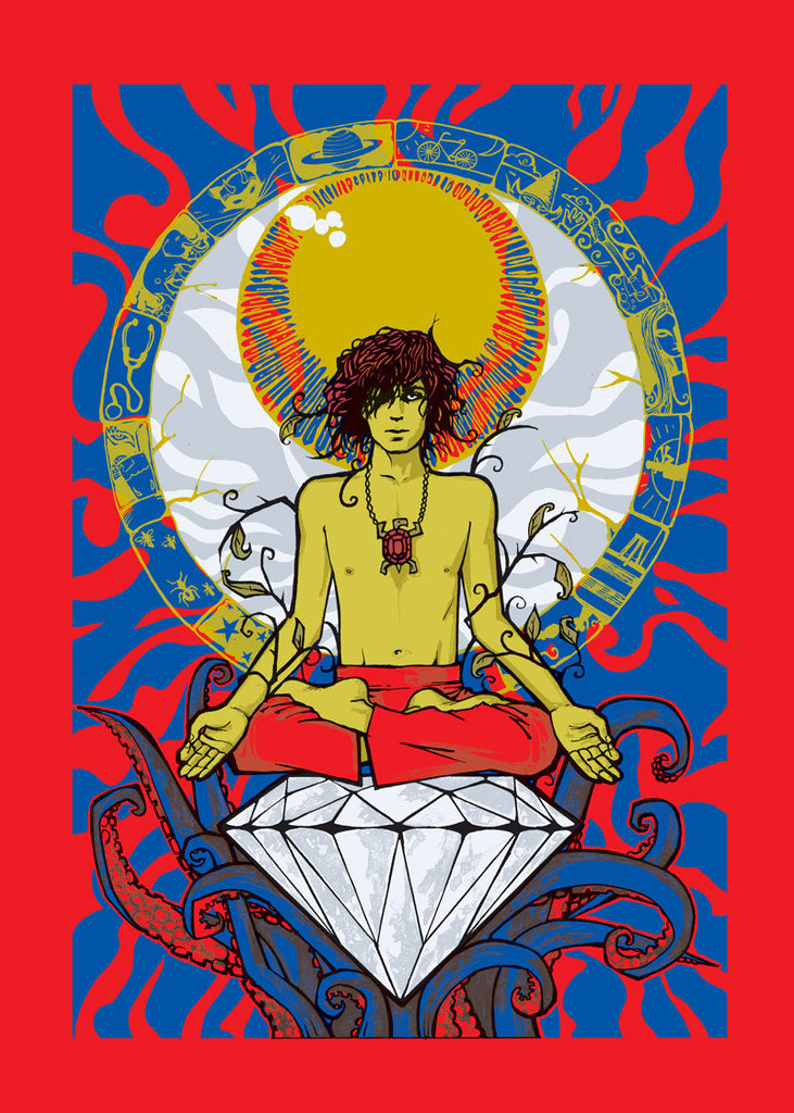 Syd Barrett (Red Variant)