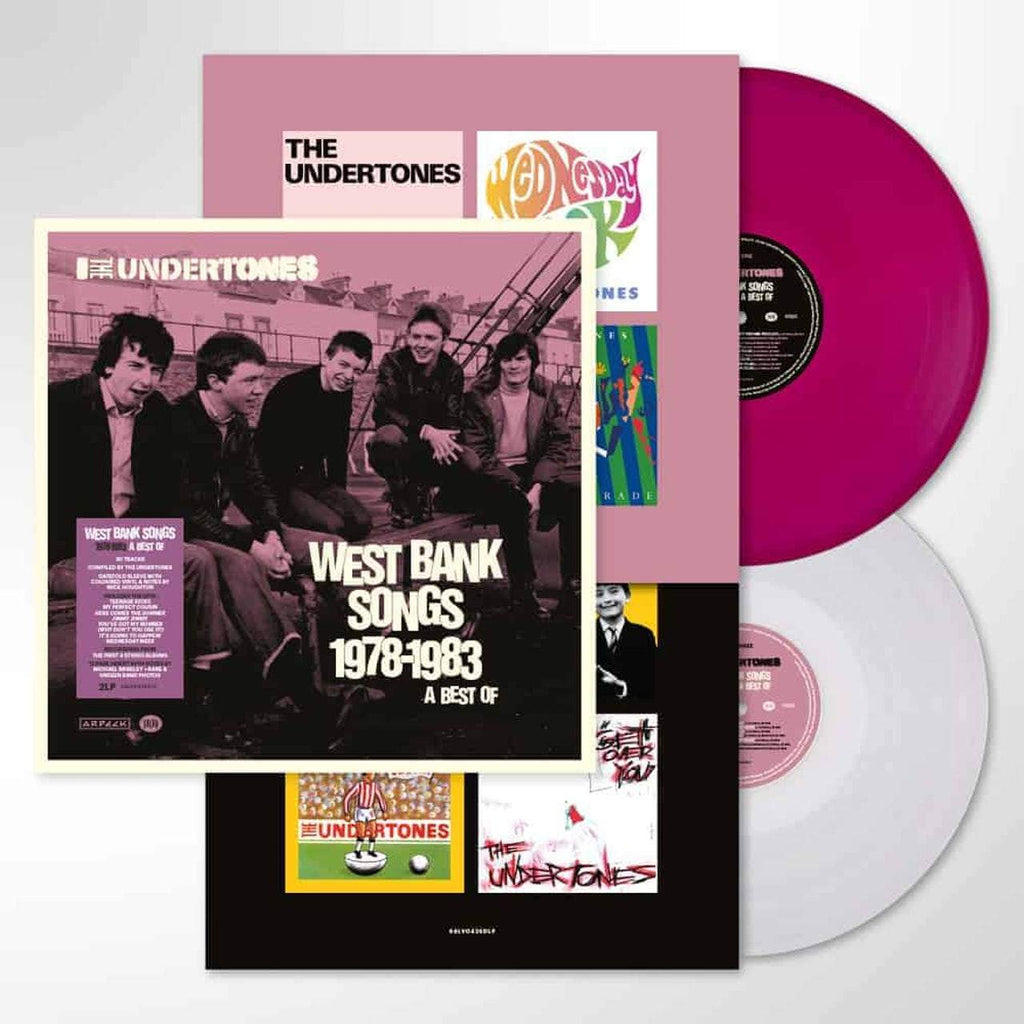 The Undertones: West Bank Songs 1978-1983 A Best Of- Vinyl 2LP
