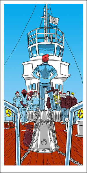Mutiny on the Belafonte (The Life Aquatic)
