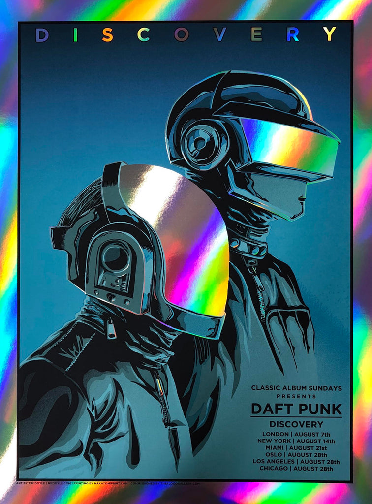 Daft Punk - Discovery (Rainbow Foil Edition with minor visible marks)