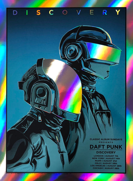 Daft Punk - Discovery  (Rainbow Foil Edition)