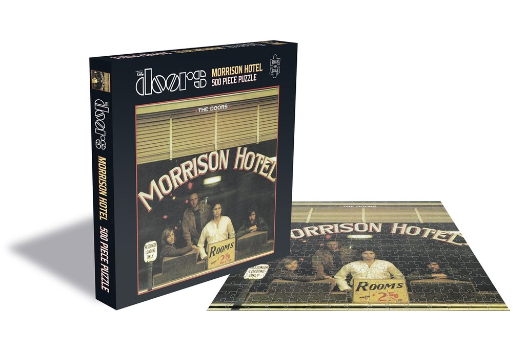 ROCK SAW PUZZLES - THE DOORS (MORRISON HOTEL)