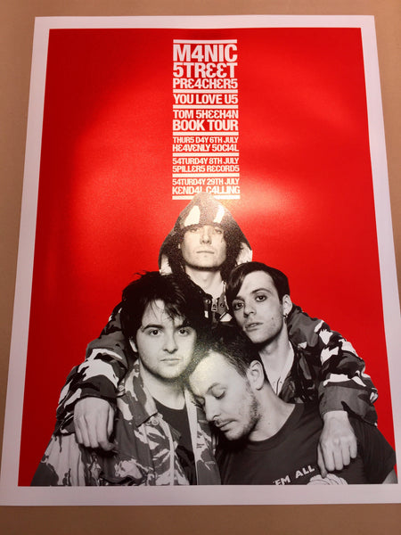 Manic Street Preachers Poster (Variant)