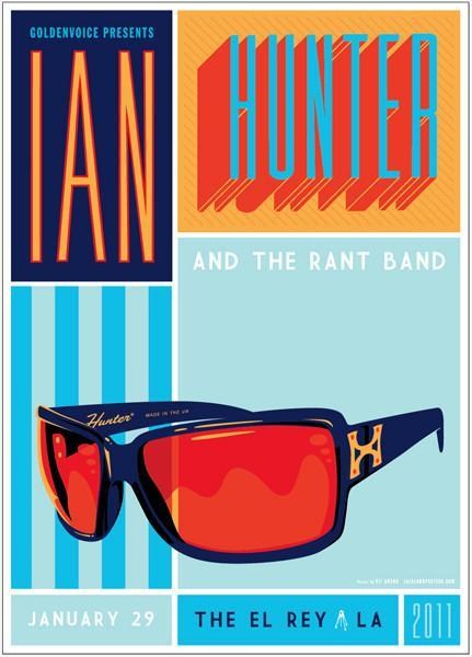 Ian Hunter Print & Book Bundle