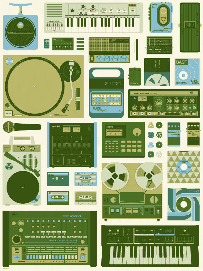 Tools Of The Trade (Green Variant)