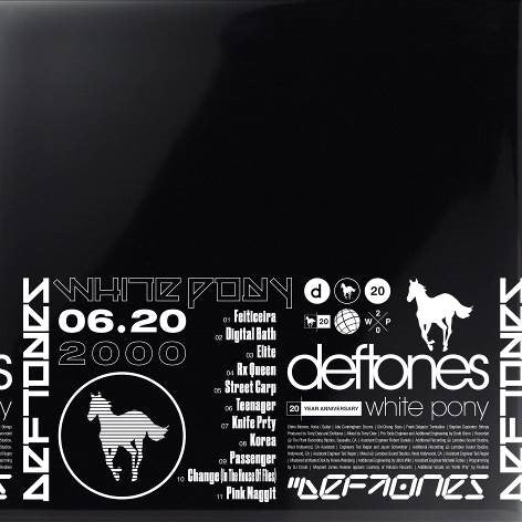 White Pony (20th Anniversary Deluxe Edition) 4LP