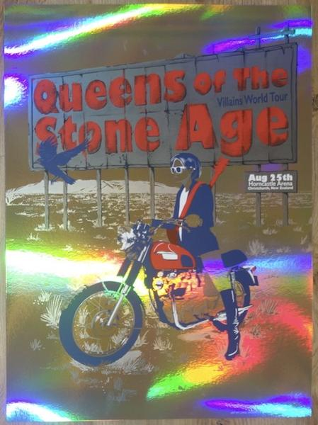 Queens of the Stone Age - Christchurch, 2018 (Foil Edition)