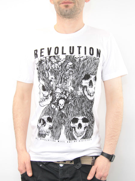 Revolution T-shirt (White)