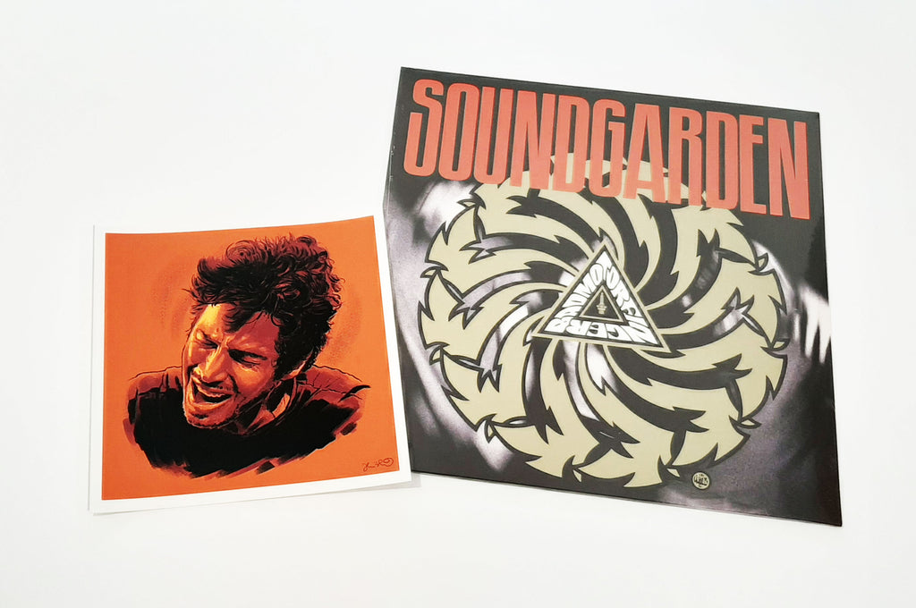 Soundgarden - Badmotorfinger w/ Chris Cornell mini print
