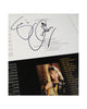 Suzi Quatro - Signed CD Artwork Running Sheet
