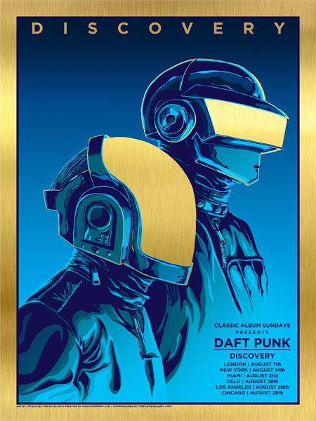 VAULT: Tim Doyle - Daft Punk (Gold Edition) #01/20