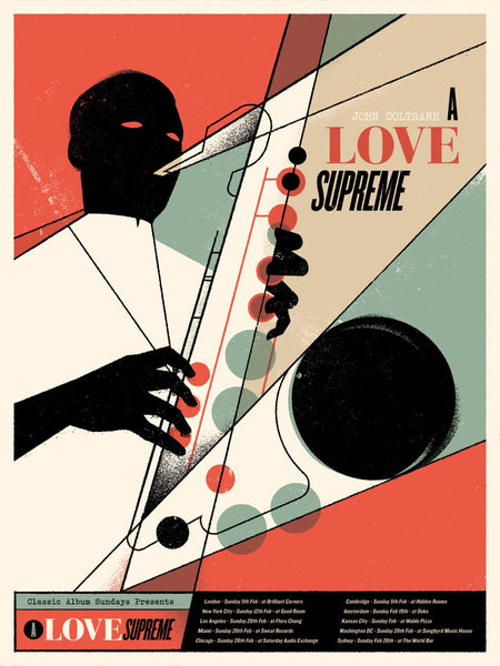 John Coltrane - A Love Supreme 001/100
