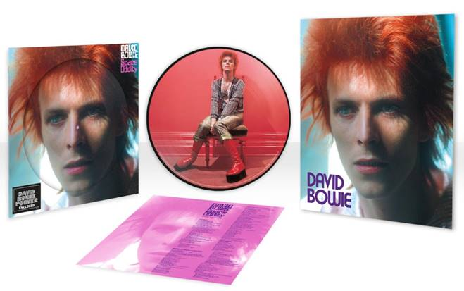 DAVID BOWIE: 'SPACE ODDITY' LIMITED EDITION 1972 PICTURE DISC